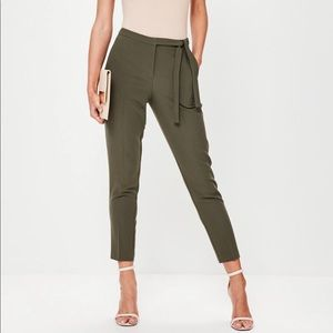 High waisted trousers from missguided